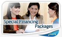 Special Financing Packages
